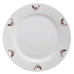 Chicken Dinner plate, 27cm