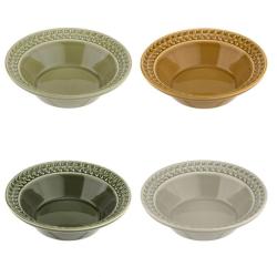 Botanic Garden Harmony Set of 4 cereal bowls, 20cm, Assorted