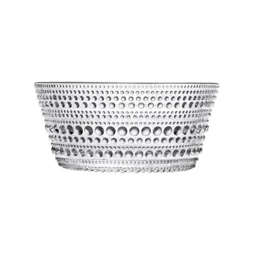 Kastehelmi Serving bowl, 1.4 litre, Clear