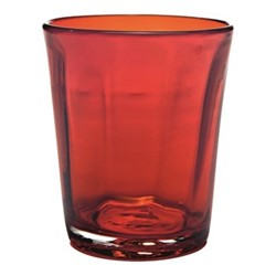 Bei Set of 6 tumblers, 32cl, red