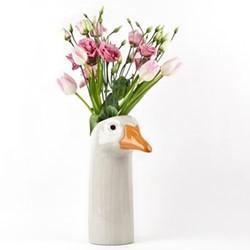 Goose Large flower vase, L12 x D16 x H27cm