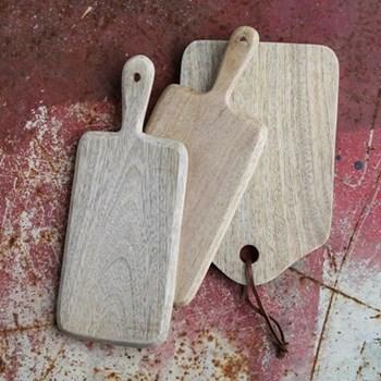 Edha Chopping board, 28 x 12cm, mango wood