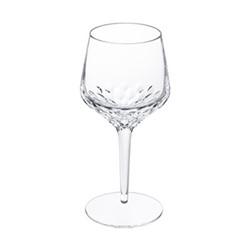 Folia Wine glass no 3, H21.5 x D9cm, clear crystal