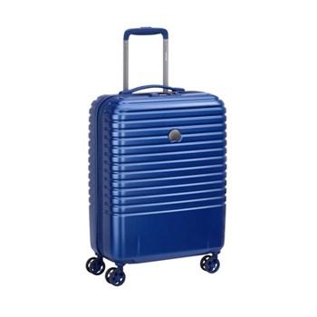 Caumartin plus 4-Double wheel slim cabin trolley case, 55cm, navy