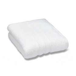 Zero Twist Bath towel, 70 x 120cm, white