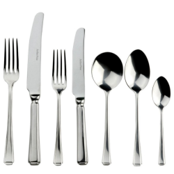Harley 88 piece cutlery set, stainless steel
