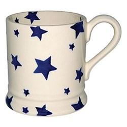 Blue Star Mug, 1/2 pint