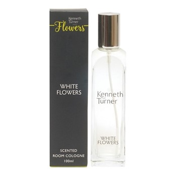 White Flowers Room cologne, 100ml, clear