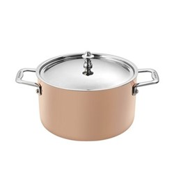 Induction - Maitre D' Copper Dutch oven with lid, 3.5 Litre, copper