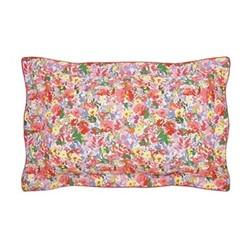 Hollyhock Meadow Oxford pillowcase, L48 x W74cm, multi