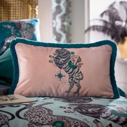 Caspian Boudoir cushion, Blush