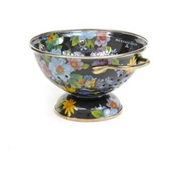 Flower Market Colander, small, black