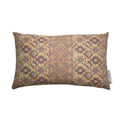 Nahuala Cushion, 42 x 70cm, yellow multi