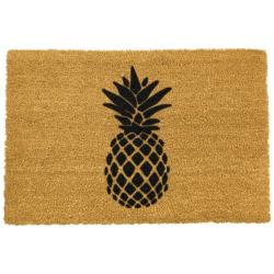 Pineapple Doormat, L60 x W40 x H1.5cm