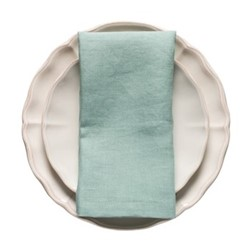 Porto Pair of napkins, 47 x 47cm, turquoise