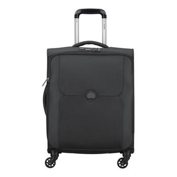 Mercure 4 wheel cabin trolley case, 55cm, black