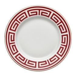 Labirinto Plate, 28cm, scarlatto