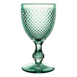 Bicos Set of 4 water goblets, H17cm - 28cl, mint green