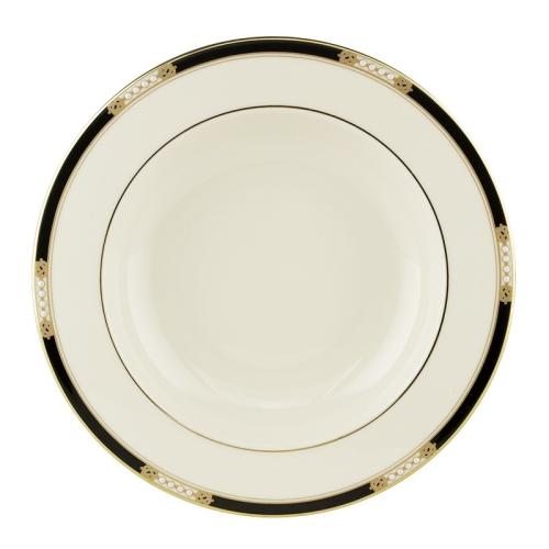 Hancock Gold Rim soup bowl