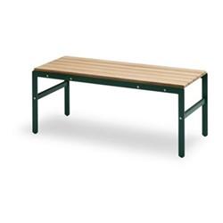 Reform Bench, W110 x D40 x H43.5cm, hunter green