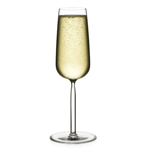 Senta Pair of Champagne glasses, 21cl