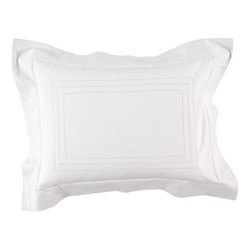 Matilda Baby pillowcase, 30 x 40cm, white 200 thread count cotton