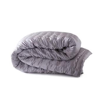 Windsor Bedspread, 240 x 240cm, silver grey