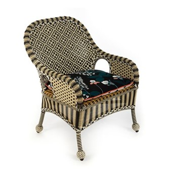 Courtyard Outdoor accent chair, W66.04 x L55.88 x H95.25cm, multi