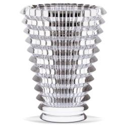 Eye Round vase, 15cm, clear