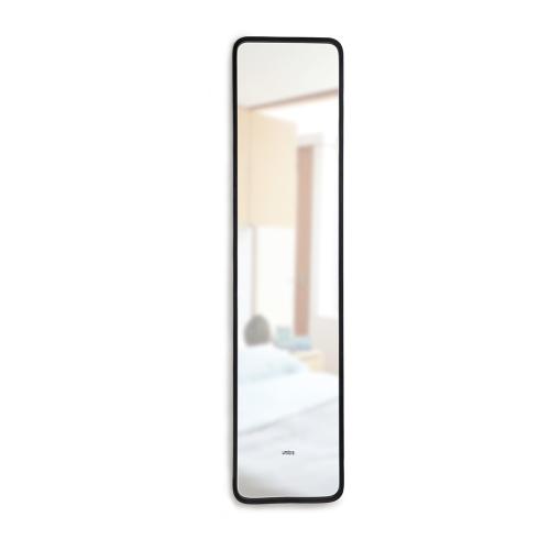 Hub Leaning mirror, W37 x H5cm, Black