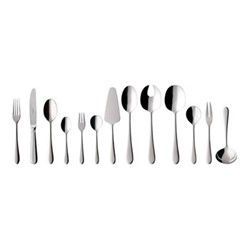 Oscar 68 piece cutlery canteen in picture box, 44 x 29 x 9cm, stainless steel