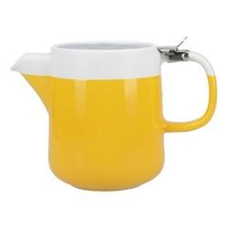 Barcelona Teapot, 420ml, mustard
