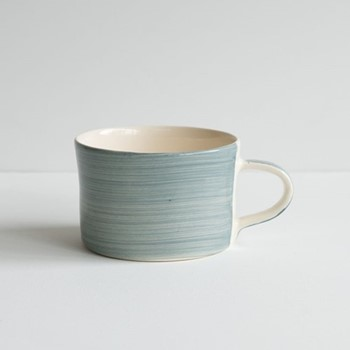 Plain Wash Set of 6 mugs, H7 x W10.5cm, dove grey