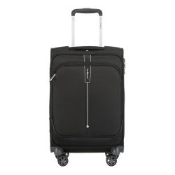 Popsoda Spinner suitcase, 55 x 35 x 20cm, Black