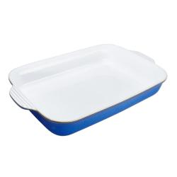 Imperial Blue Rectangular oven dish, 30cl - L39.5 x W24 x D6.5cm