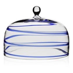 Studio - Bella Blue Cake dome, 26.5cm, blue