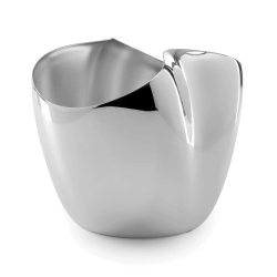 Drift Champagne bucket small, D19 x H21 x W23.5cm, Stainless Steel