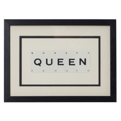 QUEEN Small frame, 40 x 30cm