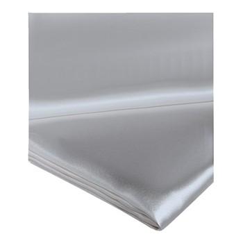 Signature King size flat sheet, 280 x 310cm, silver grey