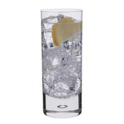 Exmoor Pair of highball glasses, 390ml, clear