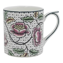 Dominoté - Roses Mug, H9.5cm - 25.5cl