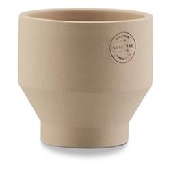 Edge Indoor pot, Dia13 x H13cm, sierra yellow