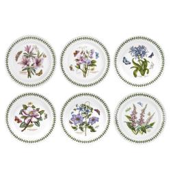 Botanic Garden Set of 6 dinner plates, 28cm
