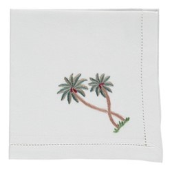 Palm Set of 4 napkins, 45 x 45cm, cotton