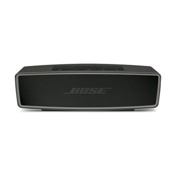 SoundLink Mini bluetooth wireless speaker, H12.8 x W11.8 x D29cm, black