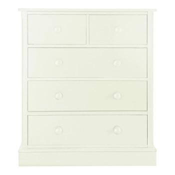 Charterhouse Chest of drawers, H103 x W91 x D52cm, antique white