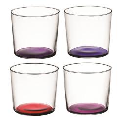 Coro Set of 4 tumblers, 310ml, berry assorted
