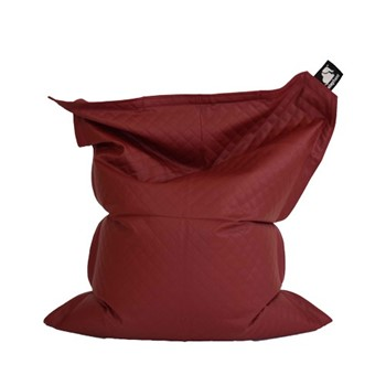 Junior - Quilted Beanbag, 140 x 110cm, vibrant red