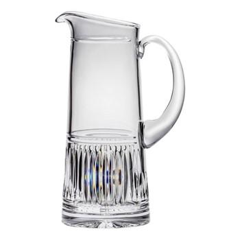Art Deco Jug, 1.25 litre, clear