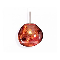 Melt Mini Mini hanging pendant, H24 x L27 x W27cm, copper